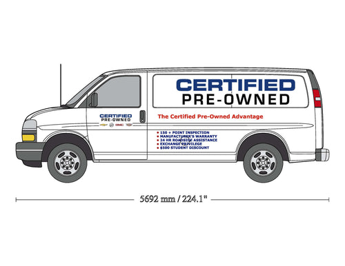 VAN GRAPHICS - GM Certified Pre-Owned