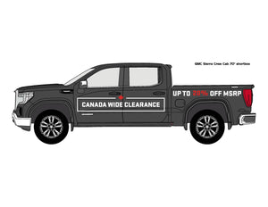 GMC CWC | VEHICLE-SIDE GRAPHICS