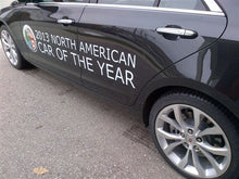 Load image into Gallery viewer, Vehicle Side Graphics - North American Car Of The Year
