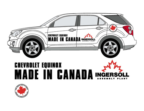 MADE IN CANADA - EQUINOX GRAPHICS
