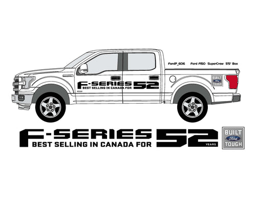 F-SERIES PICKUP SIDE GRAPHICS
