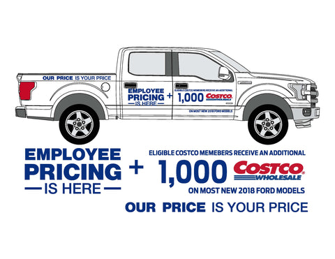 EMPLOYEE PRICE PICKUP SIDE GRAPHICS