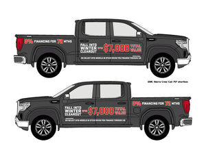 GMC WINTER CLEAROUT | VEHICLE-SIDE GRAPHICS