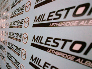DEALER SIGNATURE STICKERS
