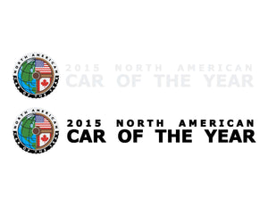Vehicle Side Graphics - North American Car Of The Year