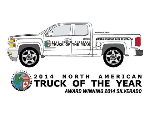 Vehicle Side Graphics - North American TRUCK Of The Year