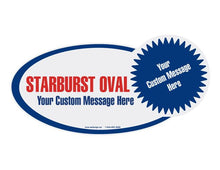 Load image into Gallery viewer, Starburst Oval - Customized