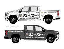 Load image into Gallery viewer, CHEVROLET TRUCK NATION PICKUP GRAPHICS