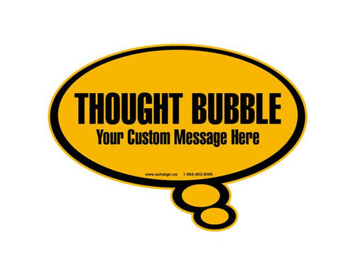 Thought Bubble - Customized