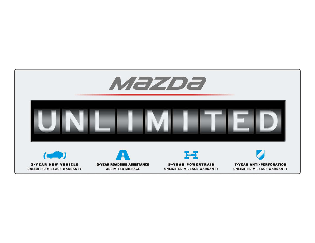 UNLIMITED Windshield Sticker (Package of 10)