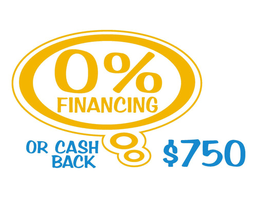 ZoomZoom Bubble Financing/Rebate Offer