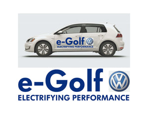 e-Golf LAUNCH SIDE GRAPHICS #2