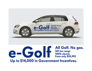 e-Golf LAUNCH SIDE GRAPHICS #1
