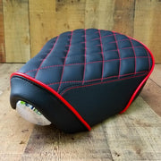 Honda SuperCub 125 handmade diamond seat cover Cheeky Seats