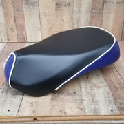 Sym Mio Black and Royal Blue Seat Cover