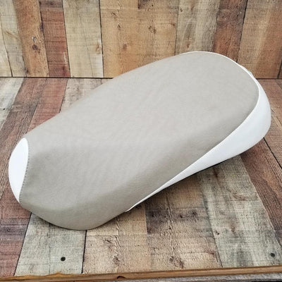 Sym Mio Tan and Cream Seat Cover