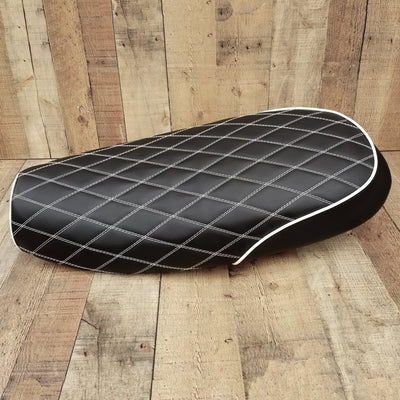 Triumph Bonneville Scrambler Diamond Seat Cover by Cheeky Seats