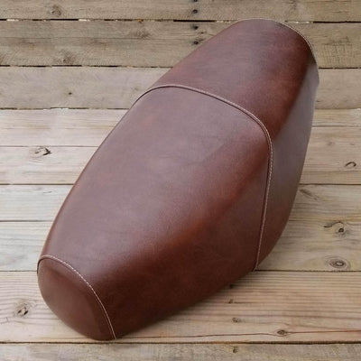 Genuine Buddy Distressed Whiskey Brown Seat Cover