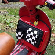 Scooter Gifts Checker Flapjack Glove Box Bag Vespa Accessories