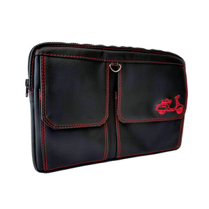 Vespa Scooter Glove Box Bag Matte Black Great Scooter Gifts