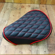 Honda SuperCub Black Diamond Seat Cover