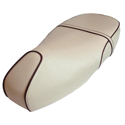 Vespa GT 125 GT200 Cream with Piping Stay Cool Seat Cover