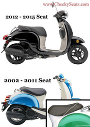 Honda Metropolitan Diamond Seat Cover with Piping