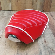 Honda C125 RED Seat Cover by Cheeky Seats