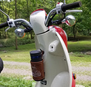 Honda Metropolitan Scoopy Jazz Coozie Scooter Gifts Handmade Travel Cup Holder