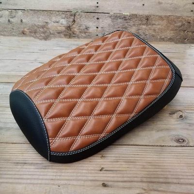 Honda Ruckus Diamond Seat Cover Caramel Brown