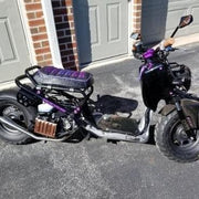 Honda Ruckus Purple Bride Zoomer Seat Cover
