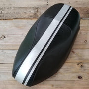 Piaggio Fly Seat Cover Dual Racing Stripes 50 - 150