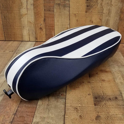 Vespa Sprint / Primavera Yacht Club Stripes Seat Cover