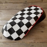 Sym Mio Checker Black and White Seat Cover by Cheeky Seats