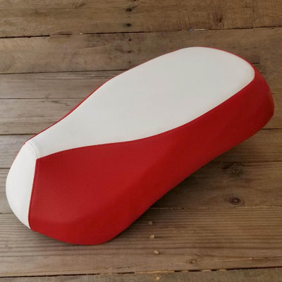 Sym Mio 50 100 White and Red Waterproof Seat Cover