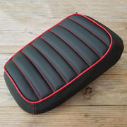 Honda Ruckus Zoomer Padded Black Tuck and Roll Seat Cover