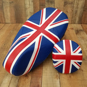 Vespa Primavera Seat Cover British Flag with Backrest Cover