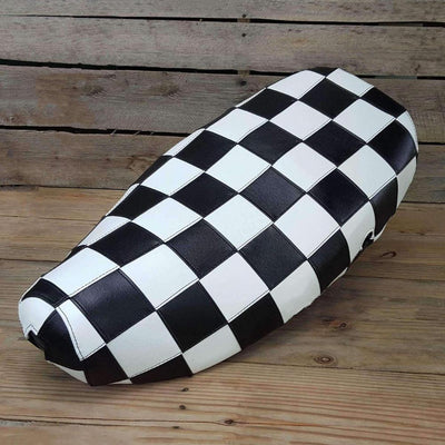 Vespa LX 50 / 150 Checkers Seat Cover by Cheeky Seats