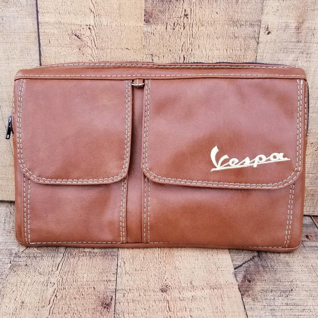 Vespa Glove Box Bag Scooter Gifts Caramel Vespa