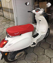 Vespa Primavera Sprint Seat Cover Matte Red