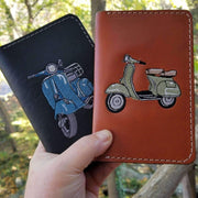 Scooter Gifts Leather Field Notes Cover by Cheeky Seats