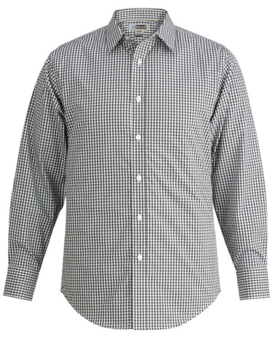 Men's Wrinkle Resistant Stretch Broadcloth Shirt