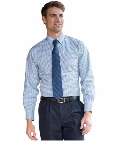 stretch shirt, men's broadcloth