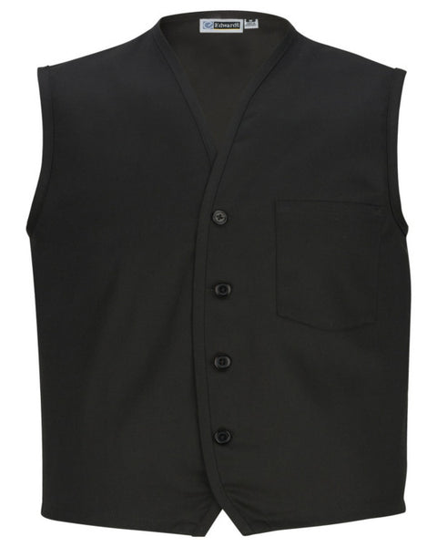 black apron vest, apron vest, server apron vest, diner server west, stuff apron vest, vest