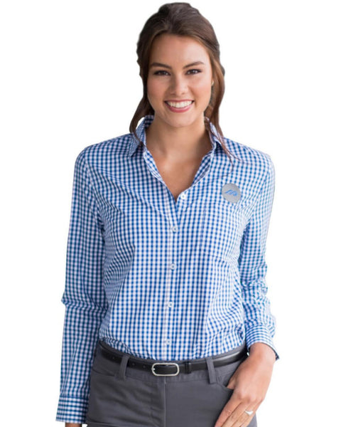 women shirt, microcheck shirt