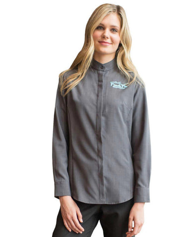 diner server blouse, diner server shirt, hotel server shirt, hotel server blouse