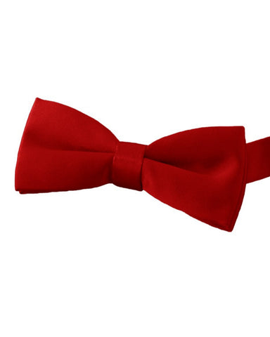 red bow tie, bow tie, server bow tie