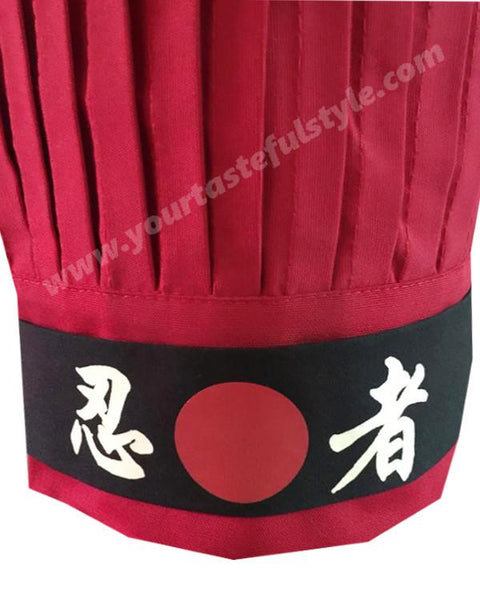 hibachi chef hat and headband, hibachi chef tall hat and headband