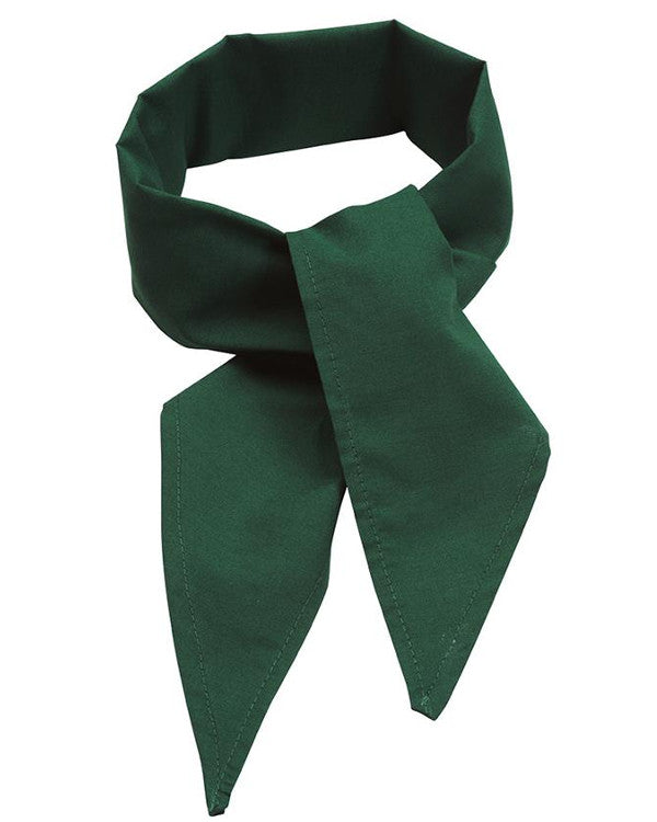 hunter green neckerchief, neckerchief