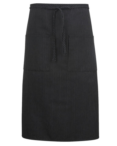 black stripe bistro apron, long bistro apron